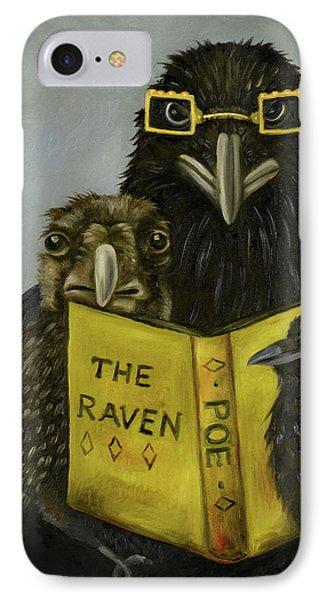 Ravens Read IPhone Case