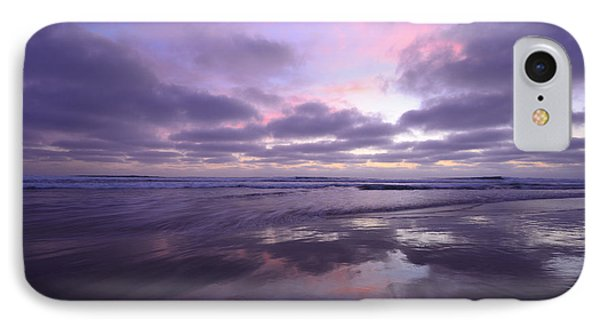 IPhone Case featuring the photograph Cardiff By The Sea Reflections by John F Tsumas