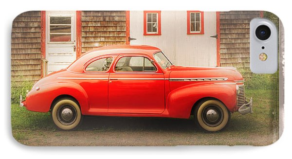 Red 41 Coupe IPhone Case