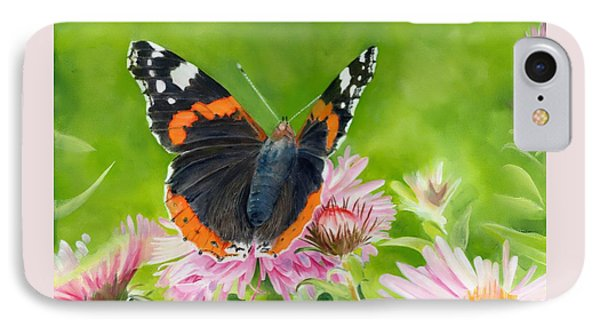 Red Admiral IPhone Case