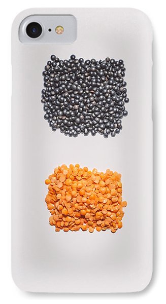 Red And Black Lentils IPhone Case
