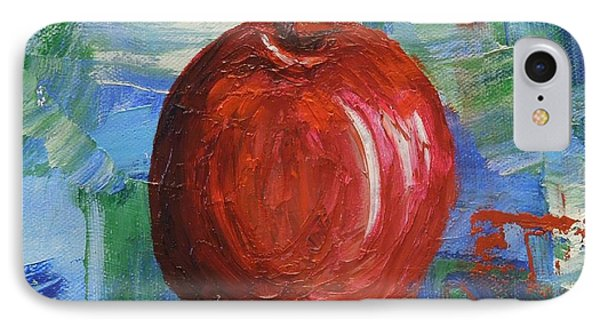 Red Apple Rhapsody-sold IPhone Case