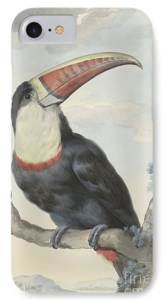 Red Billed Toucan, 1748  IPhone Case