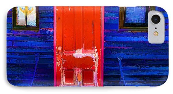 Red Door Harbor IPhone Case