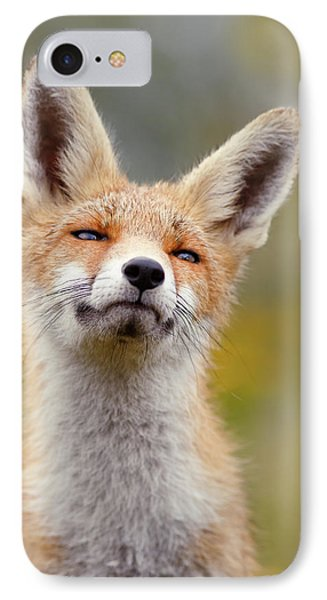 Red Fox At Ease IPhone Case