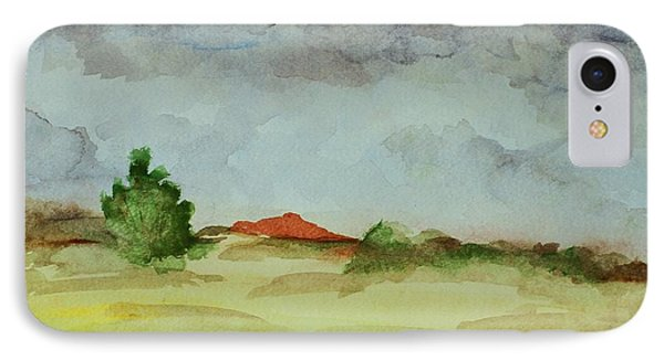 Red Hill Landscape IPhone Case