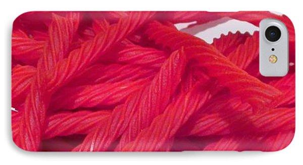 Red Licorice  IPhone Case