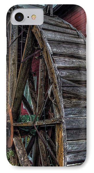 Red Mill Wheel 2007 IPhone Case