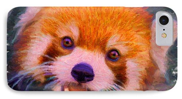 Red Panda Cub IPhone Case