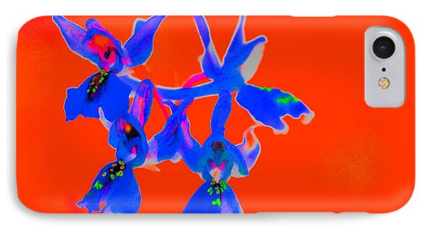 Red Provence Orchid IPhone Case