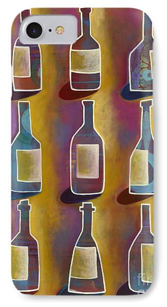 IPhone Case featuring the painting Red Red Wine by Carla Bank