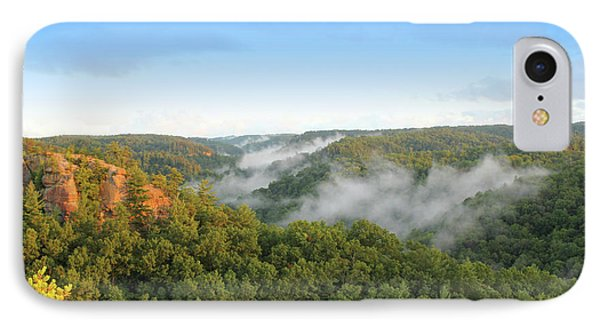 Red River Gorge Kentucky View Of Chimney Top Rock At Sunset IPhone Case