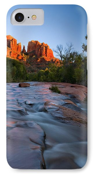 Red Rock Sunset IPhone Case