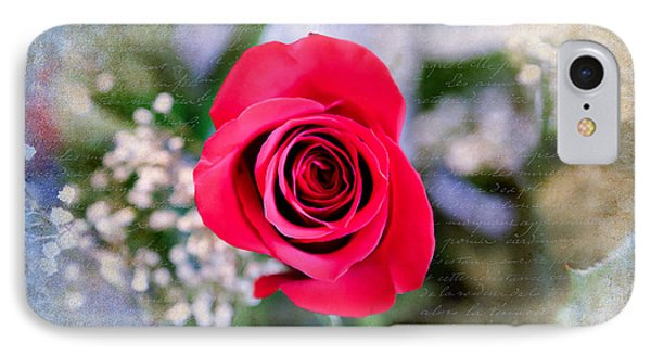 Red Rose Elegance IPhone Case