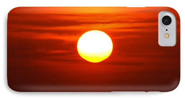 Red Sky Morning IPhone Case