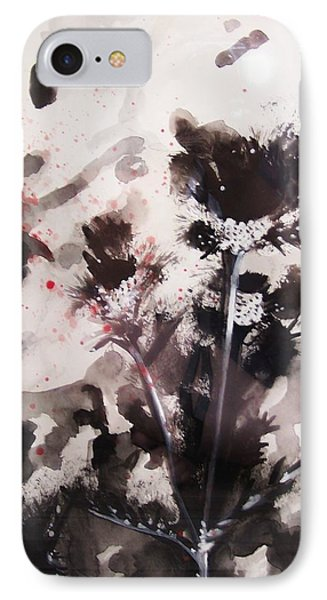 Red Spatter IPhone Case