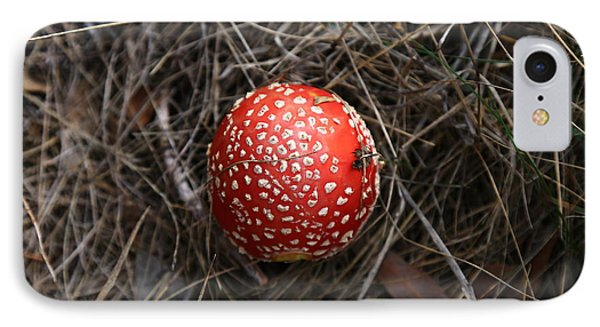 Red Spotty Toadstool IPhone Case