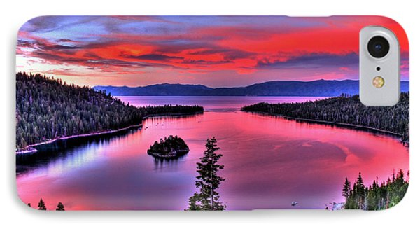 Red Tahoe IPhone Case