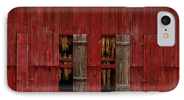 Red Tobacco Barn IPhone Case