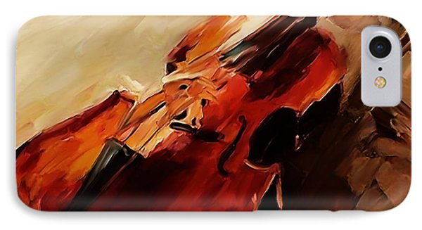 Red Violin  IPhone Case