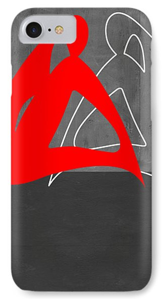 Red Woman IPhone Case