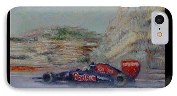 Redbull Racing Car Monaco  IPhone Case
