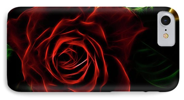 Red's Passion IPhone Case