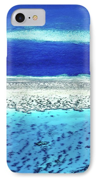 Helicopter iPhone 8 Case - Reefs Edge by Az Jackson