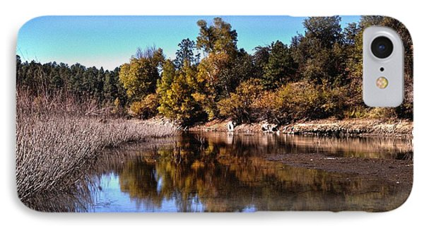 Reflecting On Natures Beauty IPhone Case