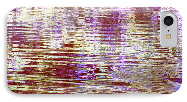 Reflecting Purple Water IPhone Case