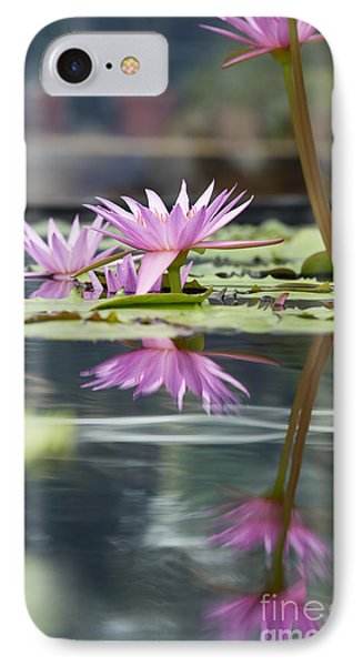 Reflecting Waterlily  IPhone Case