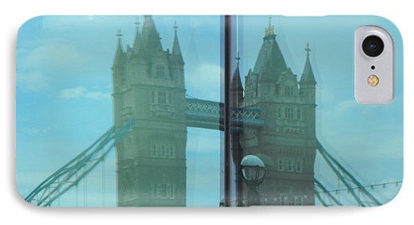 Reflection Tower Bridge IPhone Case
