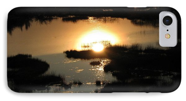 Reflections At Sunset IPhone Case