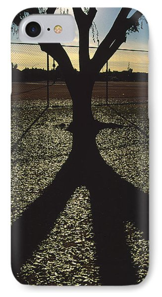 Reflections In A Park IPhone Case