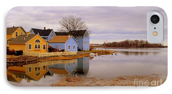Reflections In The Harbor IPhone Case