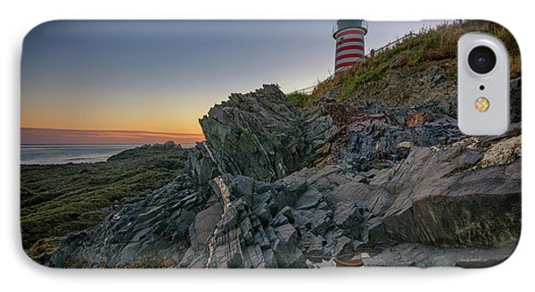 Reflections Of West Quoddy Head IPhone Case