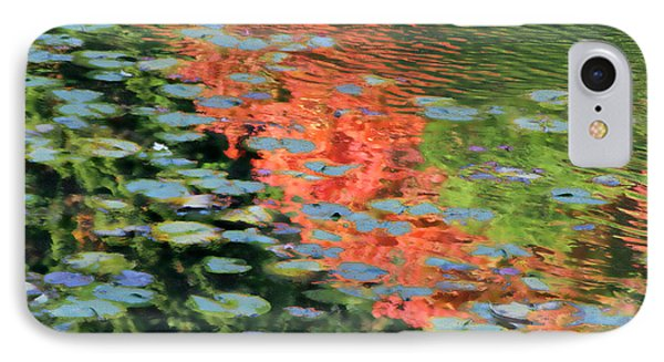 Reflections On A Lily Pond IPhone Case