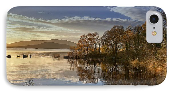 Reflections On Lough Cullin IPhone Case
