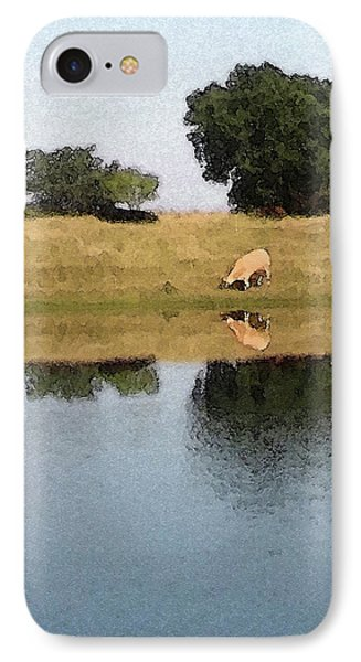 Reflective Cow IPhone Case