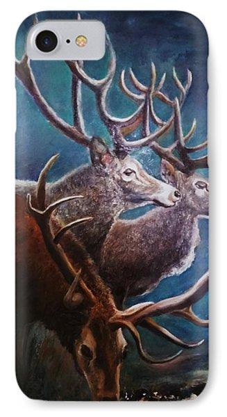 Reindeers IPhone Case
