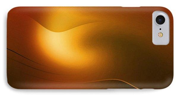 Relucent Gold IPhone Case