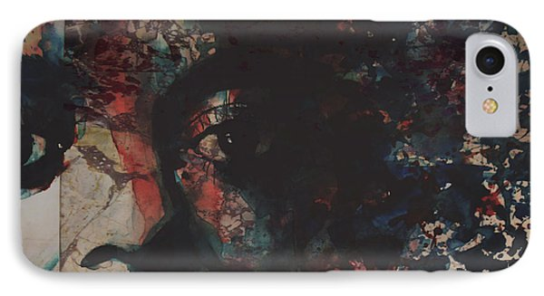 Rhythm And Blues iPhone 8 Case - Remember Me by Paul Lovering