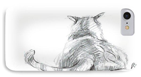 Resting Cat IPhone Case