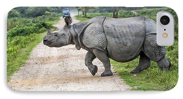 Rhino Crossing IPhone Case
