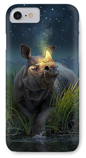 Rhinoceros Unicornis IPhone Case