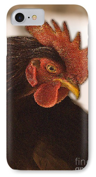 Rhode Island Red Rooster IPhone Case