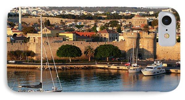 Rhodes Harbour 2 IPhone Case