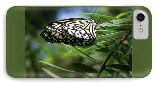 Rice Paper Butterfly - IPhone Case