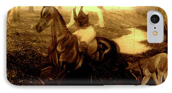 Ride On Horse IPhone Case