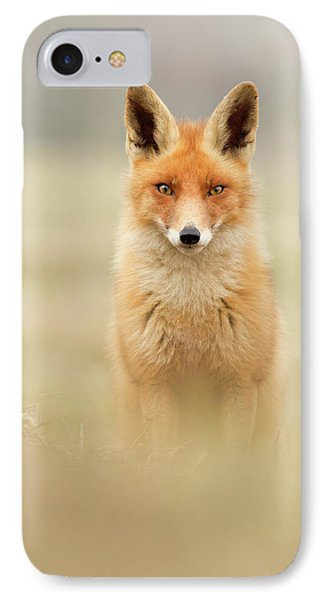 Right Into Your Soul - Red Fox IPhone Case